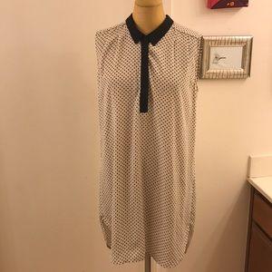 💥H&M💥 graphic Sleeveless shirt dress